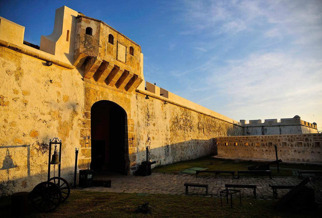 Murallas de Campeche, una de las cosas que hacen a México extraordinario.