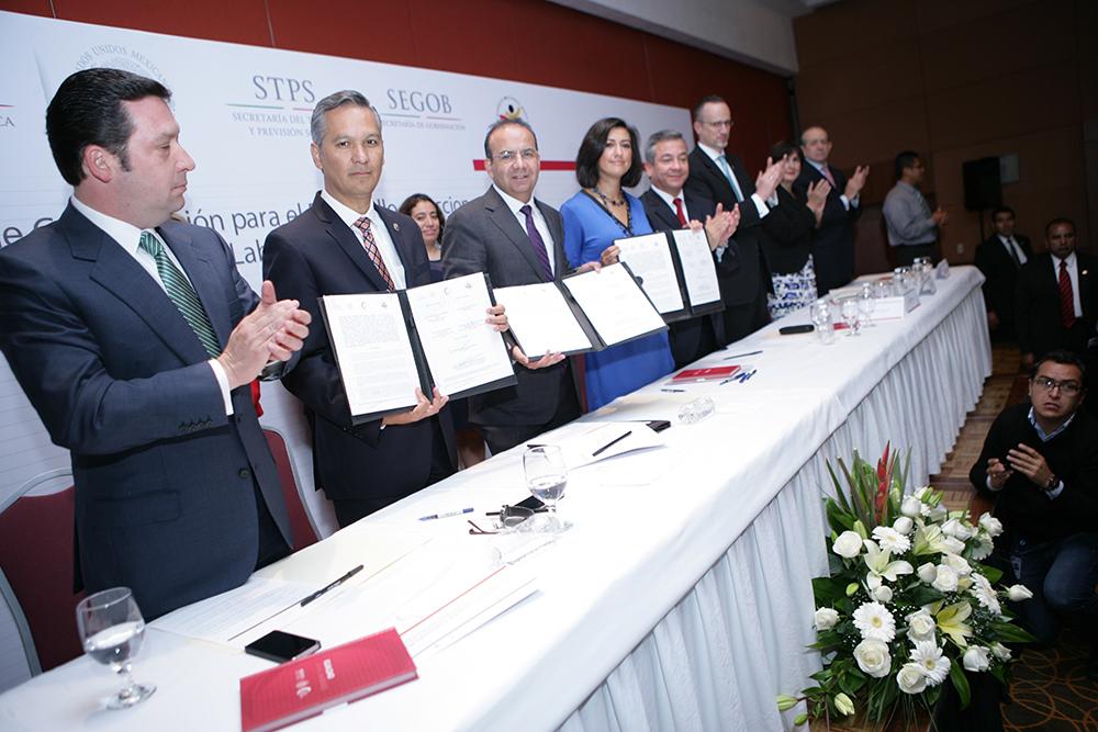 A través de este Convenio impulsamos acciones para un México más próspero e incluyente: Navarrete Prida.