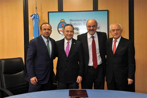 México, Argentina y Brasil presentarán su propuesta en la 18ª. Reunión Regional de la OIT de octubre próximo en Lima, Perú.