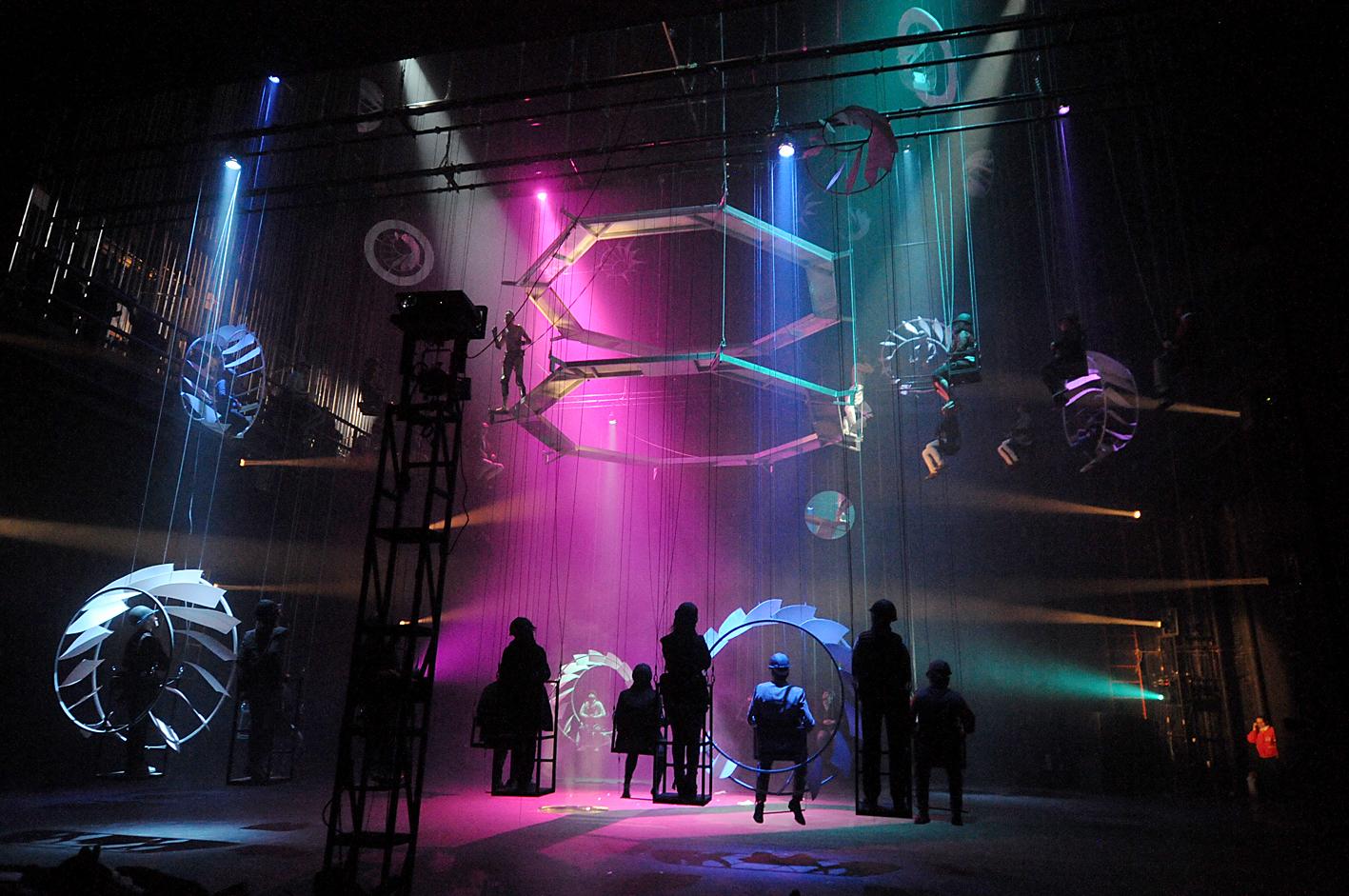 Teatro De Gravedad Cero En Bozal Secretara De Cultura