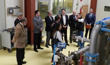 La agenda consistió en una presentación de experiencias del CENAM en el sector energético