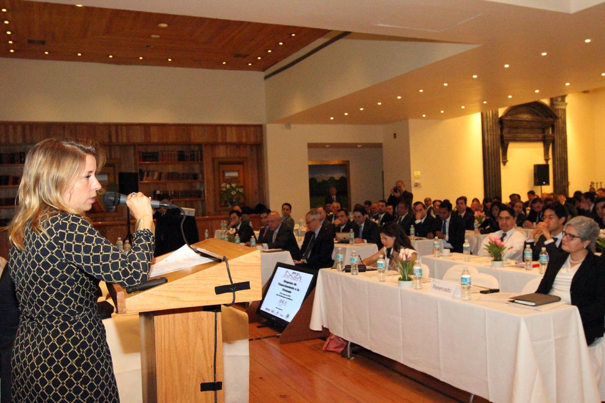 La funcionaria Paloma Silva de Anzorena asistió con la representación del secretario Jesús Murillo Karam.