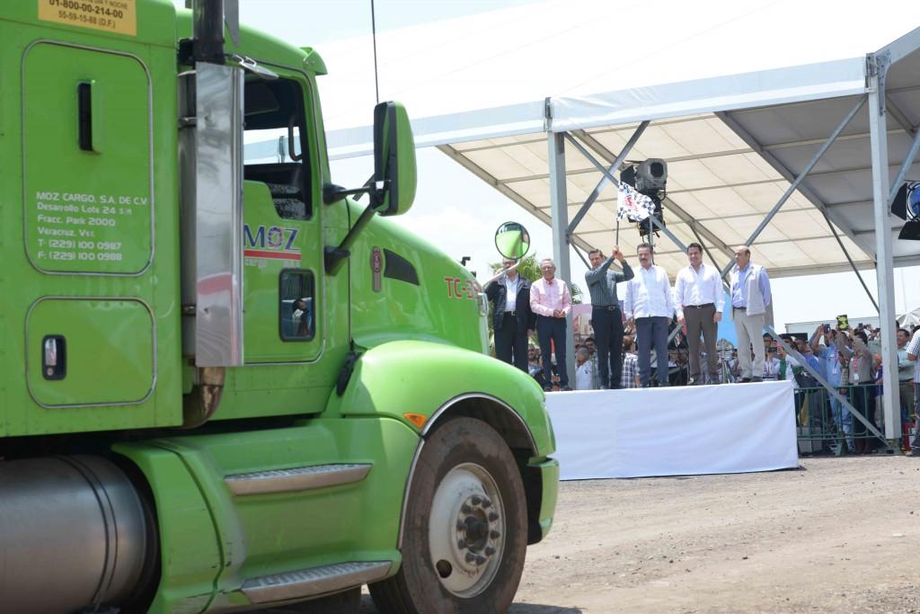 El primer mandatario afirmó que Michoacán es un estado que se proyecta a los mercados nacionales y extranjeros por la gran producción que está teniendo de carne.