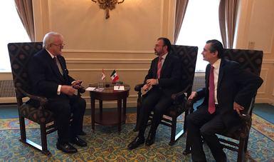 Secretarios Videgaray y Guajardo fortalecen lazos con Canadá