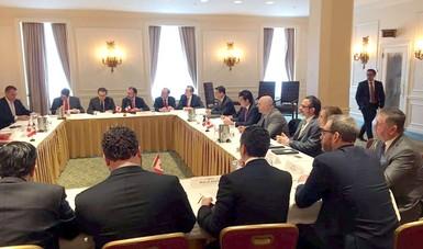 Los Secretarios de Relaciones Exteriores y Economía de México se reunieron con la Ministra de Relaciones Exteriores de Canadá