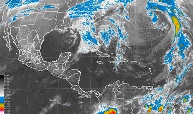 Vientos de más de 60 km/h, se pronostican para la Península de Yucatán y el Istmo y Golfo de Tehuantepec