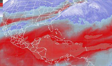 Tormentas muy fuertes se prevén en regiones de Puebla, Veracruz, Oaxaca y Chiapas