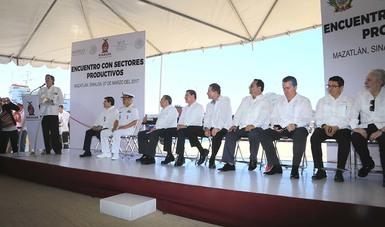 Anuncia Ruiz de Teresa ampliación del Puerto de Mazatlán con inversión de mil 300 mdp