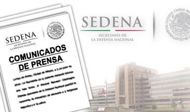 Imágenes representativas de SEDENA.