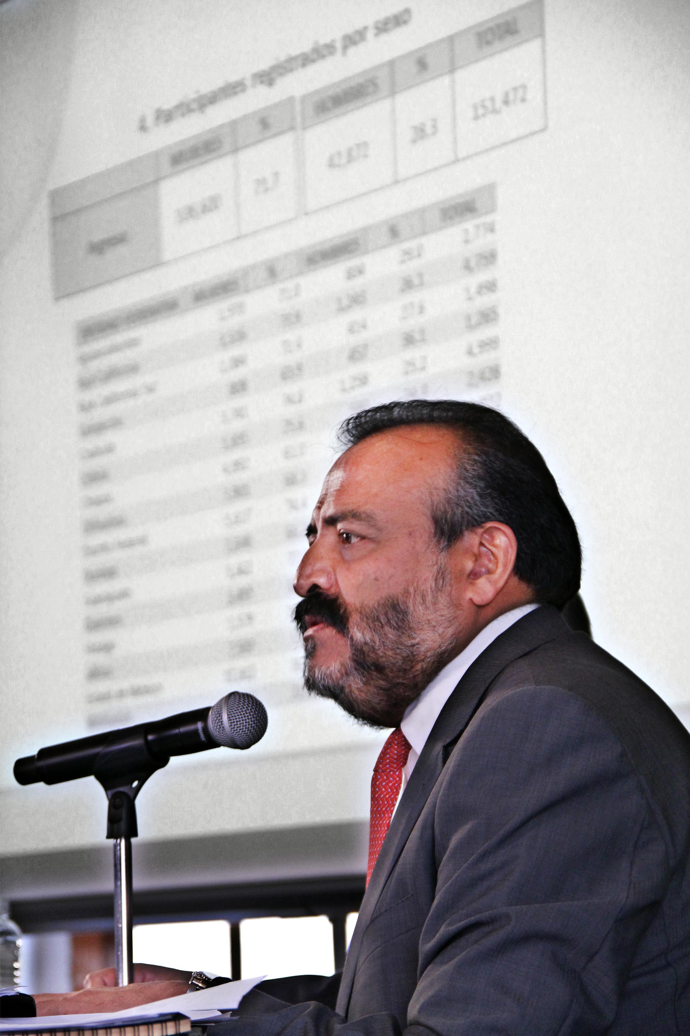 Conferencia de Prensa con el Coordinador Nacional del Servicio Profesional Docente de la SEP, Ramiro Álvarez Retana