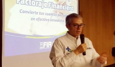 Promoción del factoraje por parte del DG de FIRA