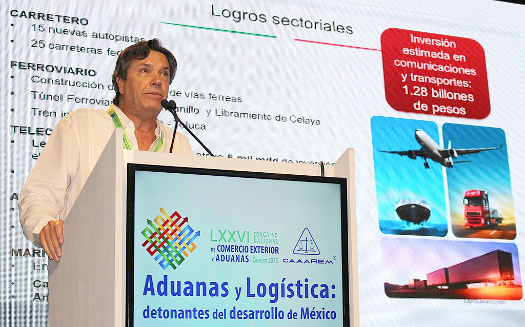 Al finalizar 2015 los puertos del país operarán 370 millones de toneladas de mercancía