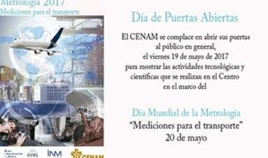 """Día Mundial de la Metrología, """"Mediciones para el transporte"""" 20 de mayo de 2017"""