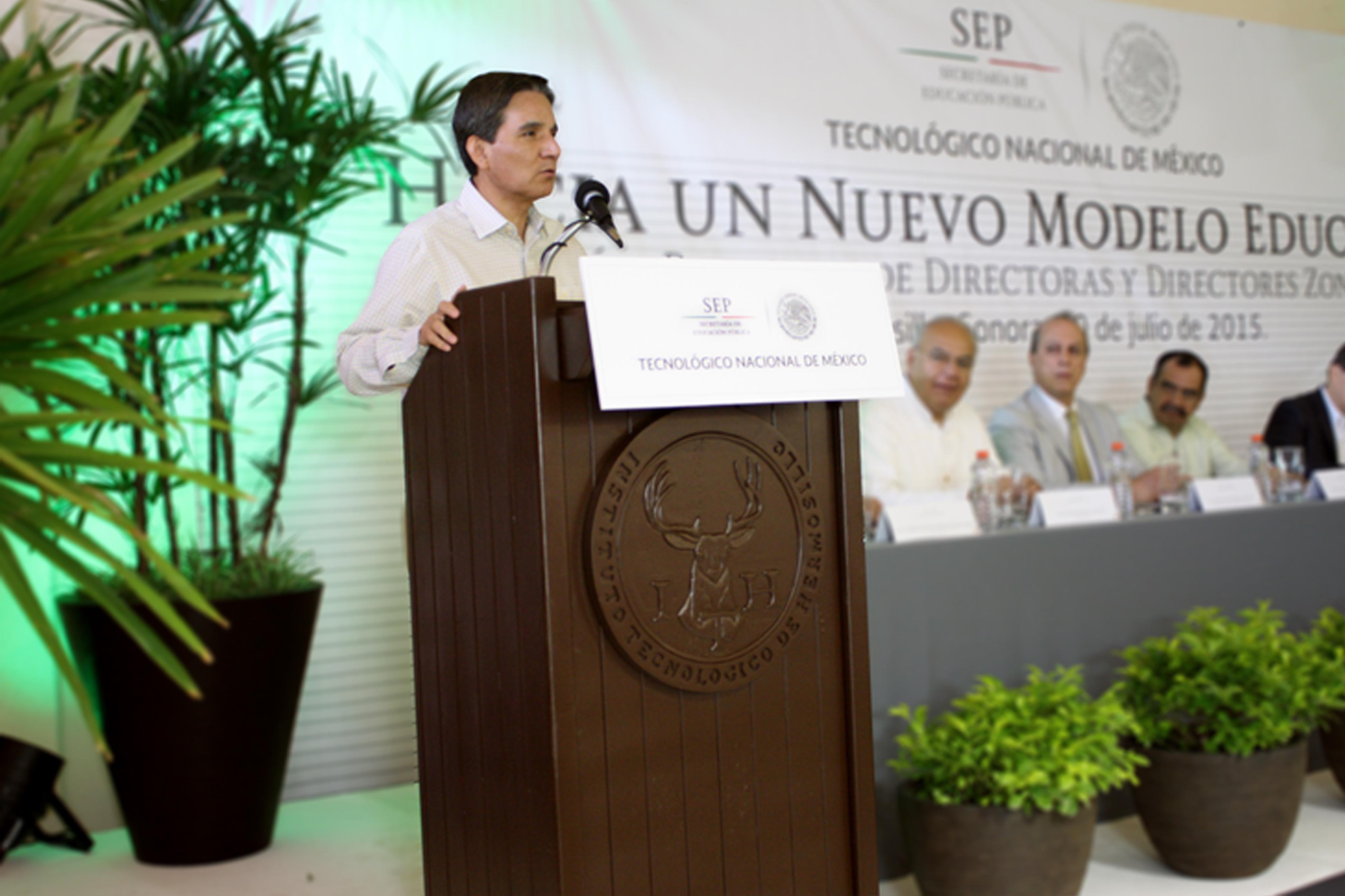 El Tecnológico Nacional de México (TecNM) celebró la reunión regional denominada Hacia un Nuevo Modelo Educativo, con directores de 15 estados de la zona norte del país.