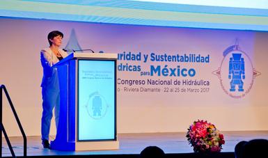 Blanca Jiménez Cisneros, Directora de la División de Ciencias del Agua