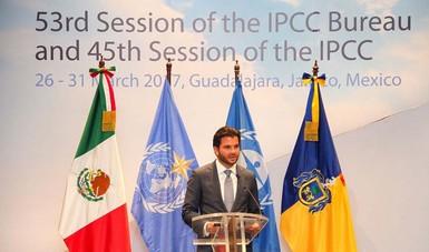 El combate al cambio climático es un tema prioritario para México y en el que actuaremos con responsabilidad y liderazgo: Pacchiano Alamán