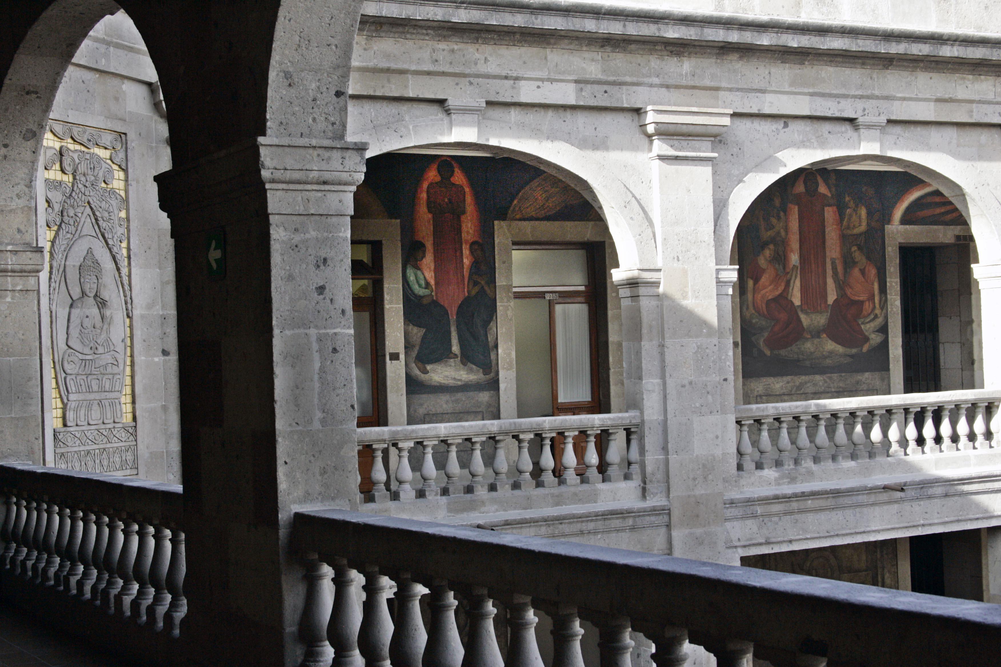 Se presentaron obras de artistas de la Escuela Mexicana de Arte Down (EMAD).