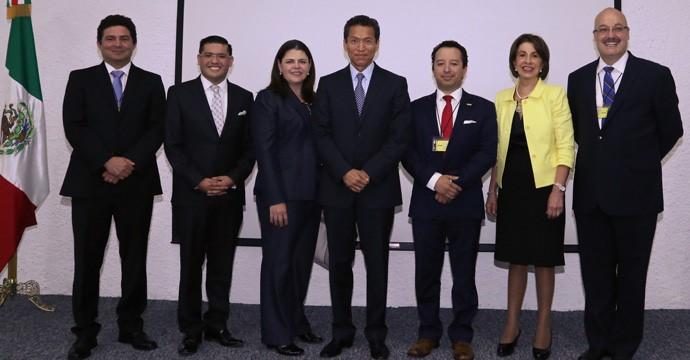 María del Rocío Ruiz, Testigo de Honor en el Convenio de Colaboración entre el SAT y el Colegio Nacional de Correduría Pública Mexicana