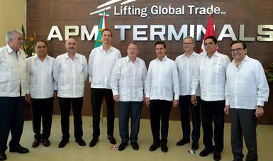 Se llevó a cabo con una inversión privada de la empresa danesa MAERSK de más de 7 mil 400 millones de pesos.