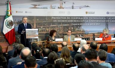 México y Canadá presentan Proyectos de Cooperación Tecnológica y Académica en hidrocarburos