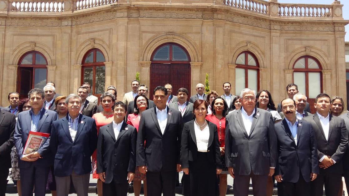 Inauguración de la Octava Reunión Nacional de Contraloría Social, en Durango, Durango.