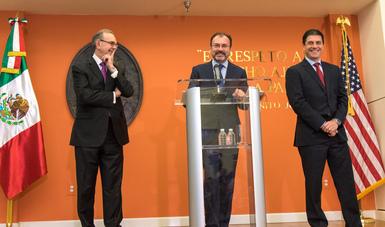 Mensaje del Canciller Luis Videgaray en Conferencia de Prensa por su visita de trabajo a Washington, D.C.