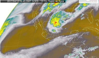 Vientos fuertes con posibles tolvaneras o torbellinos, se prevén en Chihuahua, Coahuila, Nuevo León y Tamaulipas