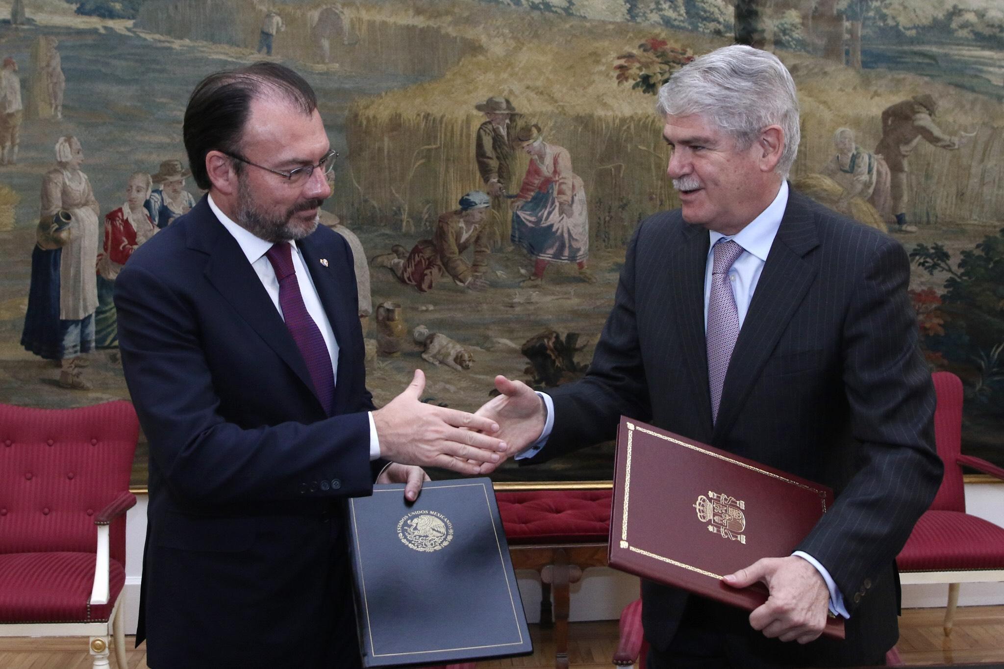 Xii edici n de la comisi n binacional espa a m xico for Exteriores espana