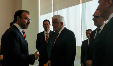 Se reúne el Secretario Luis Videgaray con Thomas Donohue, Presidente de la Cámara de Comercio de EUA