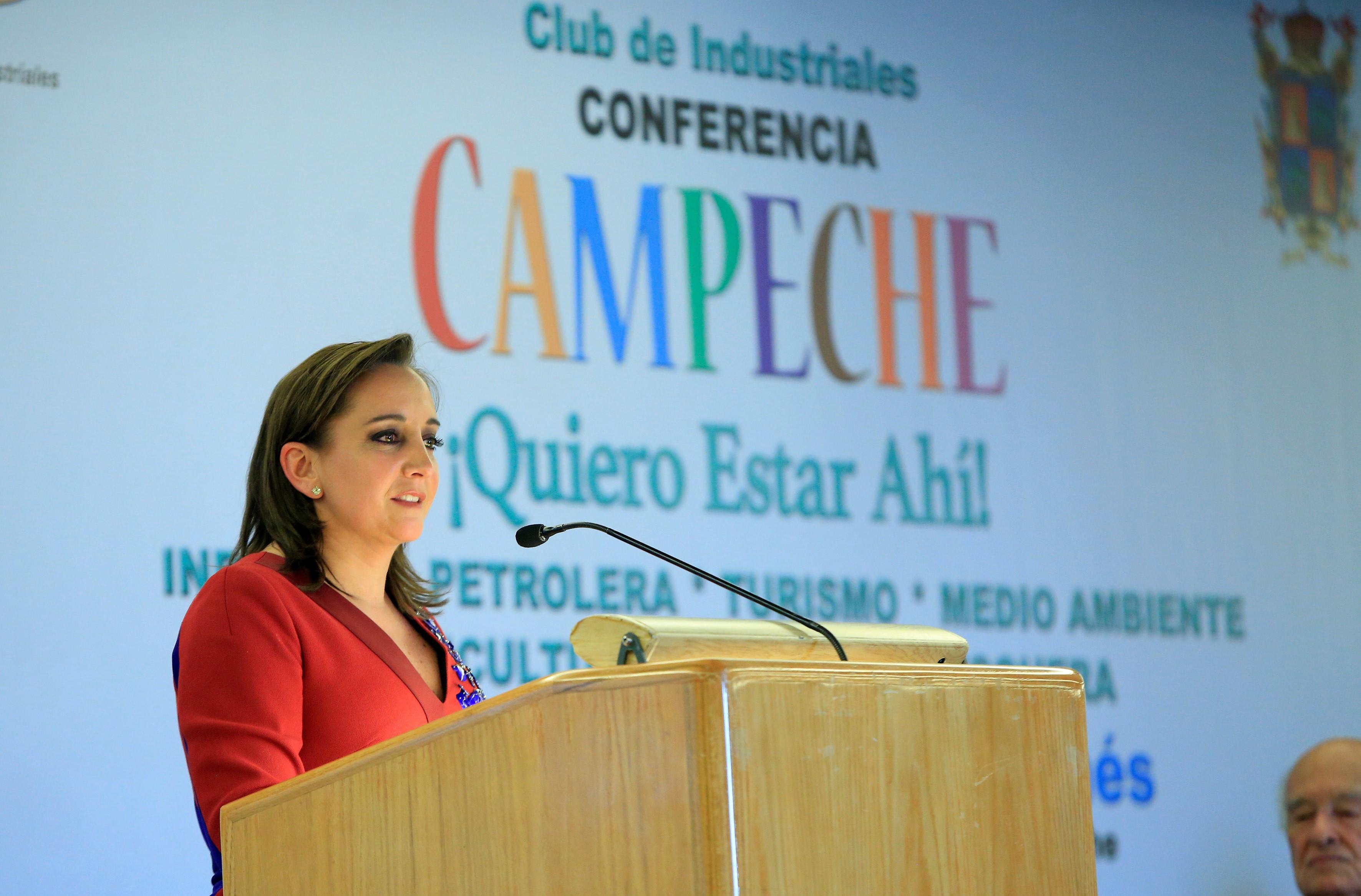 La Secretaria de Turismo participó en la Semana de Campeche que encabezó el gobernador de la entidad, Fernando Ortega Bernés.