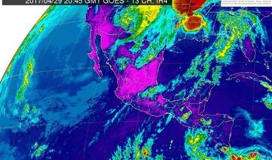 En Sonora, Chihuahua, Coahuila, Nuevo León y Tamaulipas se prevén vientos fuertes con rachas mayores a 60 km/h.