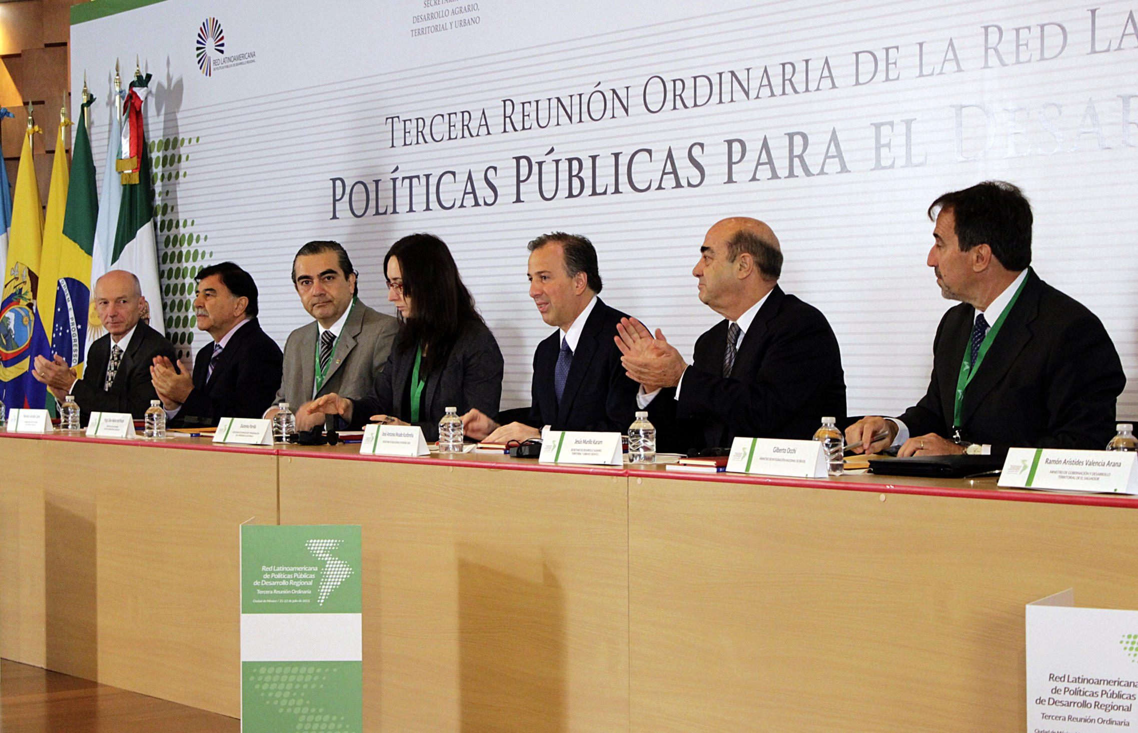 Canciller José Antonio Meade en la Tercera Reunión Ordinaria de la Red Latinoamericana de Políticas Públicas de Desarrollo Regional
