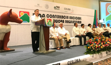 Inauguración 38a Conferencia Nacional de Mejora Regulatoria