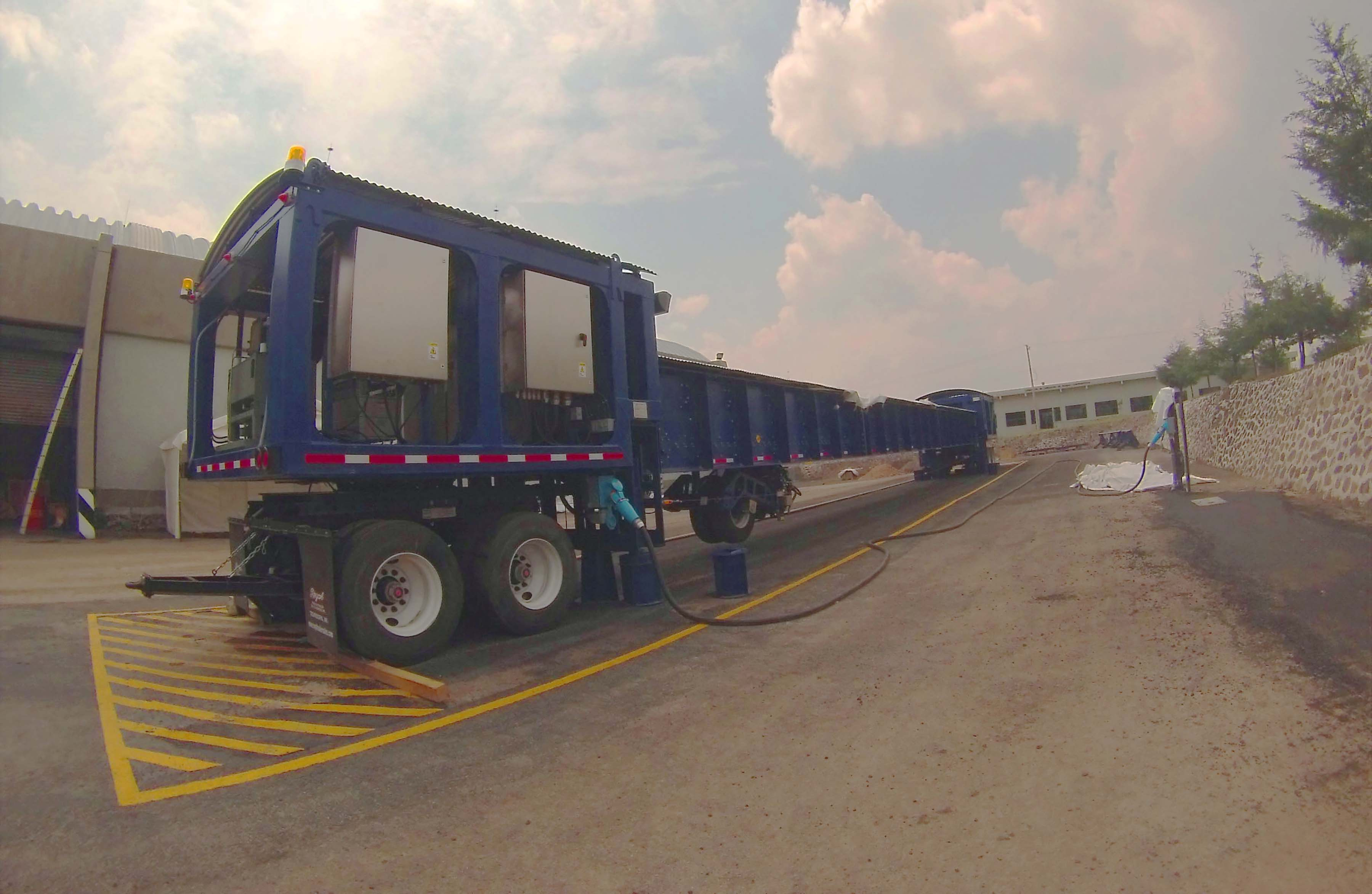 Simulador de vehículos pesados HVS MARK VI