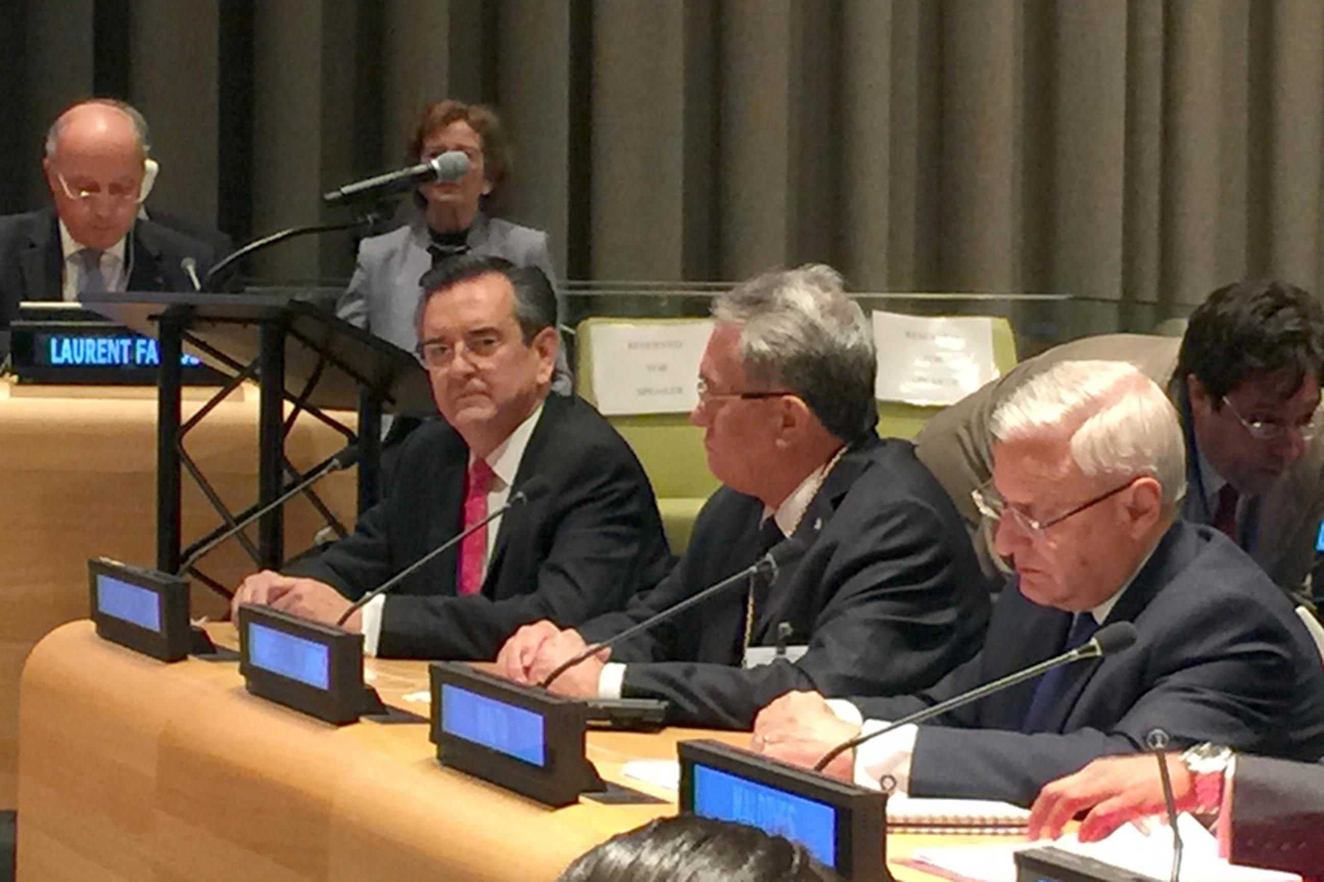Rodolfo Lacy en Foro Político de Alto Nivel sobre Desarrollo Sostenible en la ONU