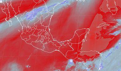 Prevén vientos de más de 60 km/h en Sonora, Durango y la Península de Baja California, y con tolvaneras en Chihuahua