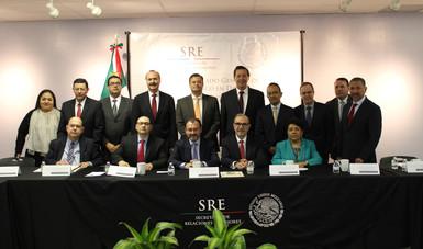 Se reúne el Canciller Luis Videgaray Caso con los Cónsules  de México en Texas