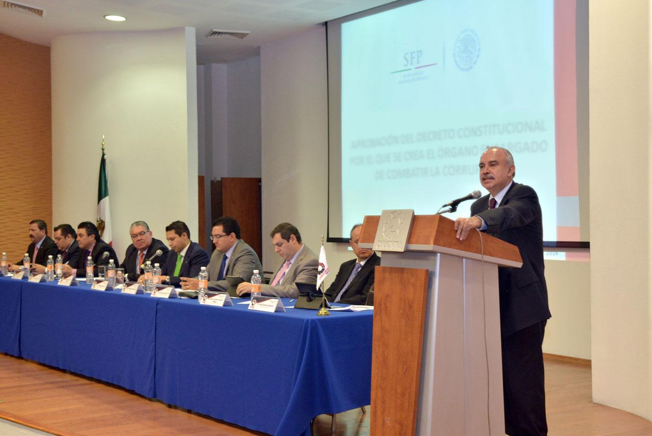 Asiste el Encargado del Despacho de la SFP, a la Sesión del Consejo Directivo Nacional de la Canacintra.