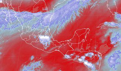 Durante la noche de hoy se prevén tormentas fuertes en regiones de Chiapas, y de menor intensidad en Guerrero y Oaxaca.
