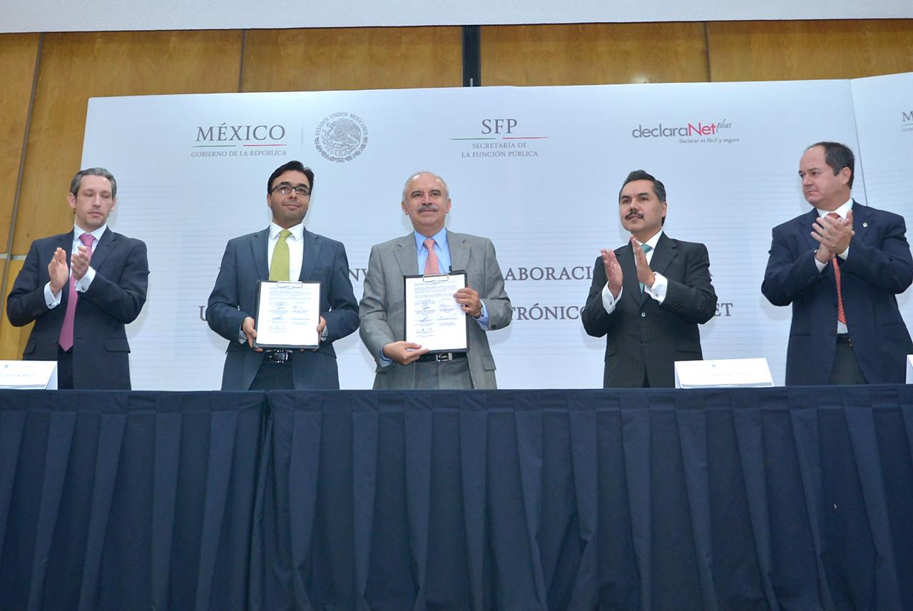 Juan José Crispín Borbolla, Gabriel Contreras Saldívar, Julián Olivas Ugalde, Javier Vargas Zempoaltecatl y Manuel Sebastián Casillas Ruppert.