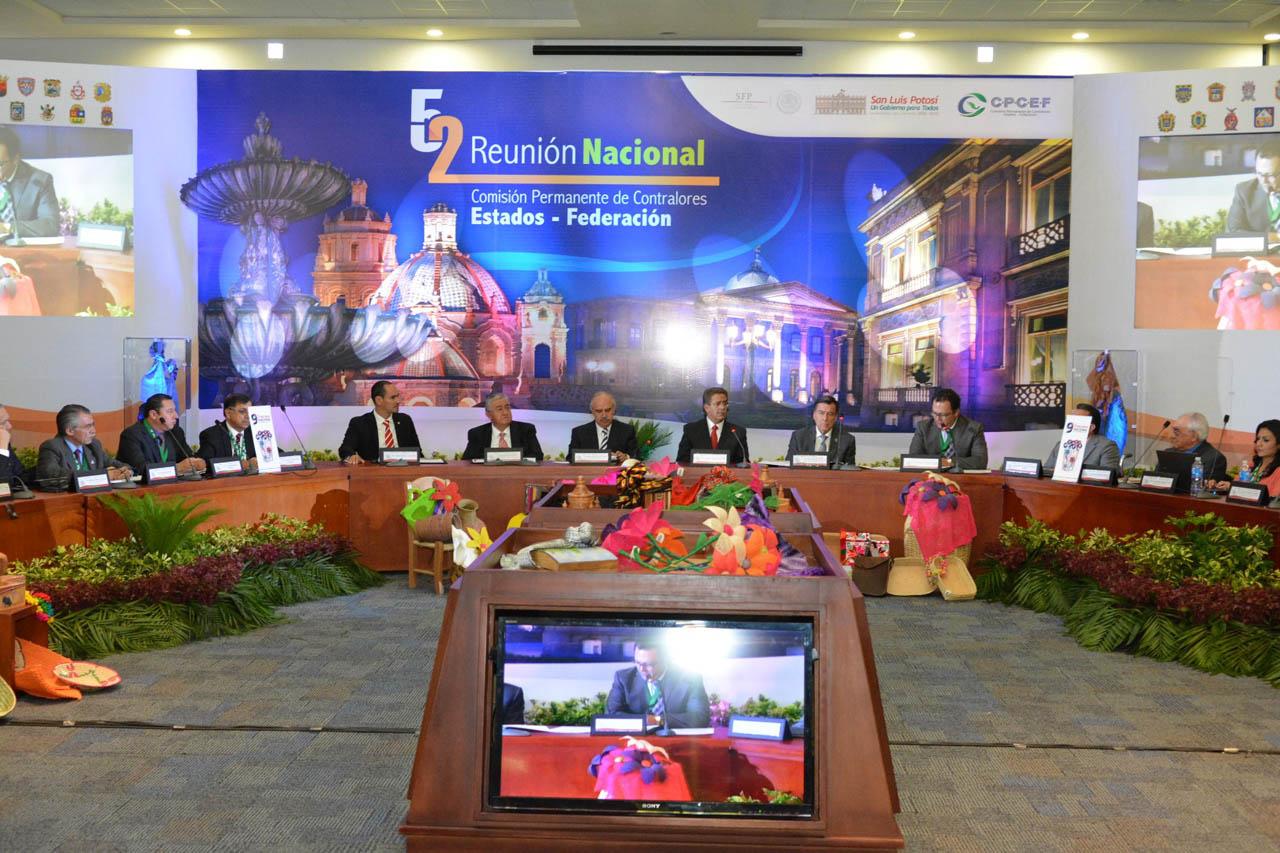 52 Reunión Plenaria de la Comisión Permanente de Contralores Estados-Federación.