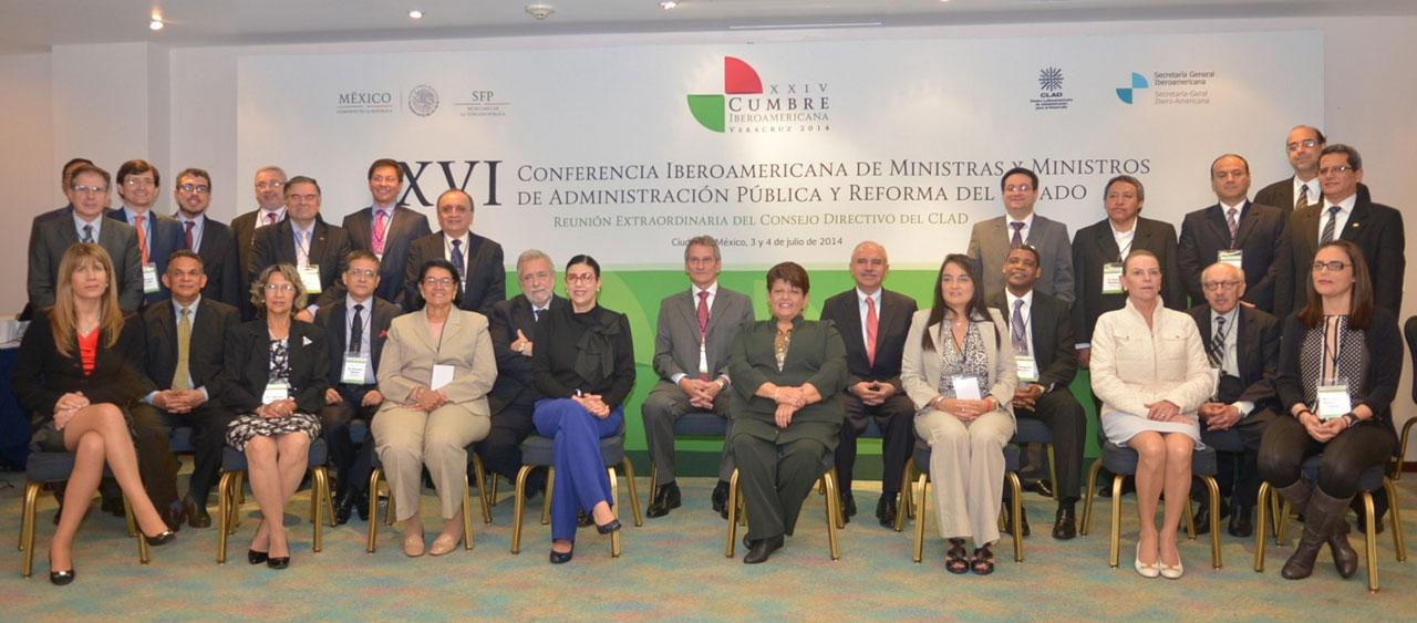 XVI Conferencia de Ministros y Ministras de Administración Pública y Reforma del Estado Iberoamericanos.