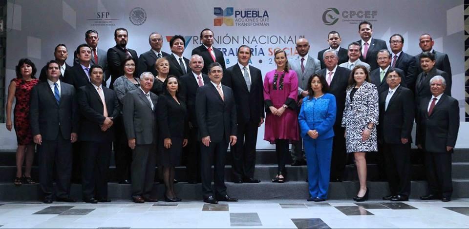 Clausura de la 7ª Reunión Nacional de Contraloría Social.