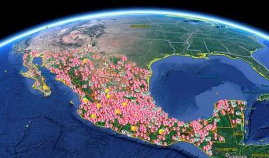 Ubicación y límites territoriales de la estructura de la SAGARPA