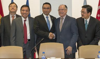Delegaciones de México e Indonesia buscan aumentar inversiones e impulsar su relación comercial
