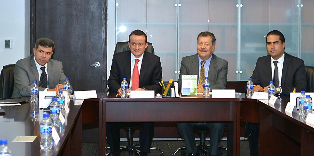 El Comisionado Federal de la COFEPRIS, Mikel Arriola Peñalosa, y el Titular de la Unidad de Normatividad de Contrataciones Públicas de la SFP, Antonio Cárdenas Arroyo, inauguraron el Taller.