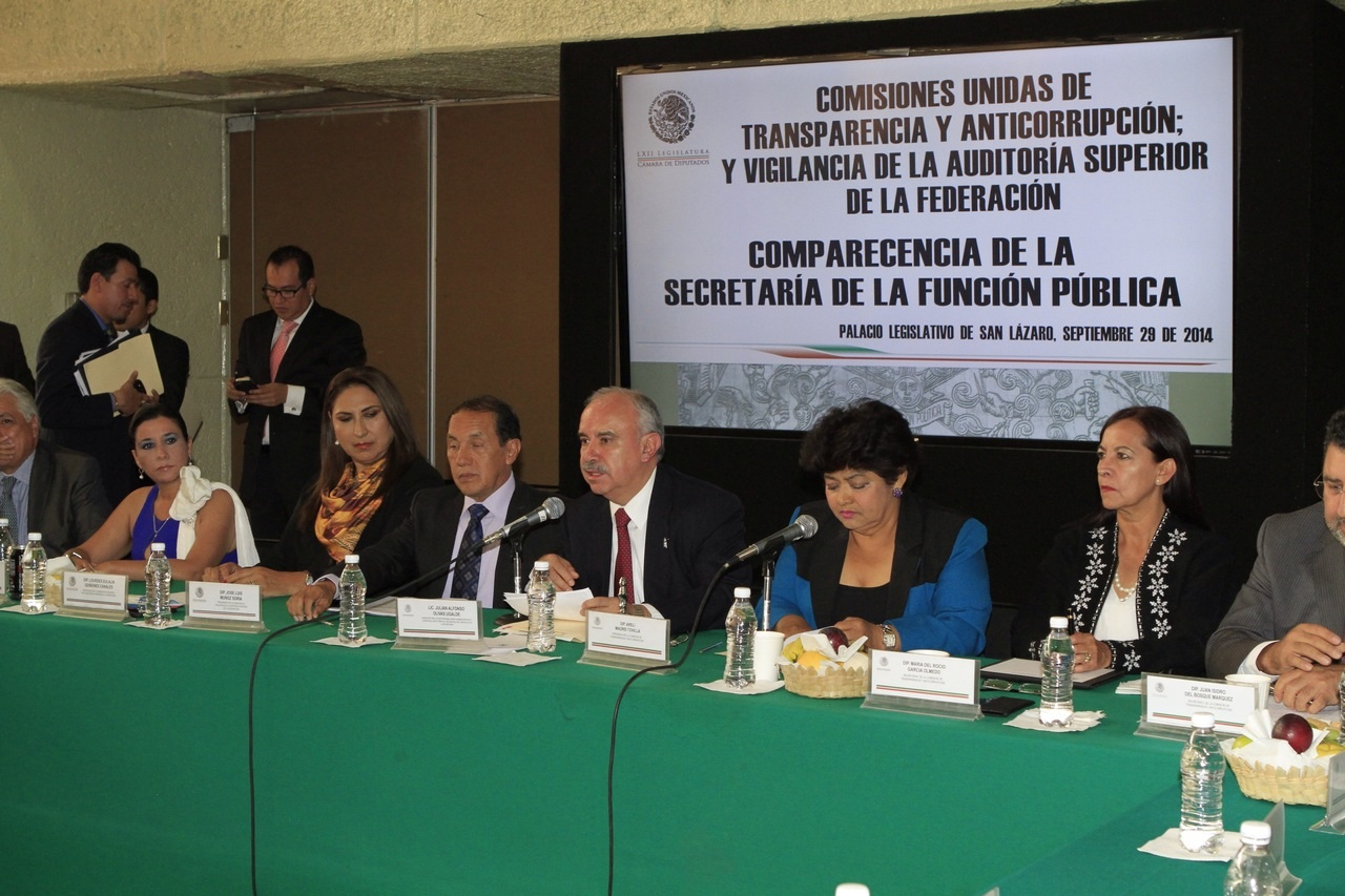 Al comparecer ante diputados federales, el Encargado del Despacho de la SFP, Julián Olivas Ugalde, informó que en el primer semestre de este año se sancionaron a 8 mil 791 servidores públicos.