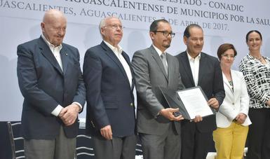 También se instaló la Red Aguascalentense de Municipios por la Salud.