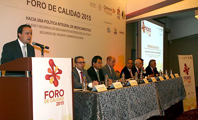 La autoridad sanitaria garantiza la calidad de los insumos para la salud que diariamente consumen los mexicanos.