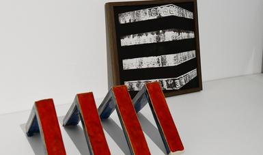 Doce propuestas de artistas mexicanos y españoles realizadas en torno a postulados de Zygmunt Bauman integran la exposición Cartografías líquidas, en el Museo de Arte Carrillo Gil.